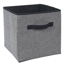 Úložný box 30 x 30 x 30 cm, černá