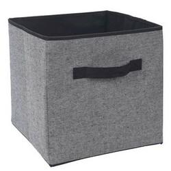 Koopman tárolódoboz 30 x 30 x 30 cm, fekete