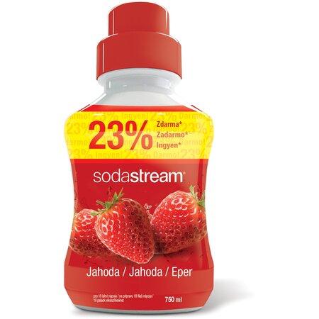 SodaStream Syrop Truskawka, 750 ml