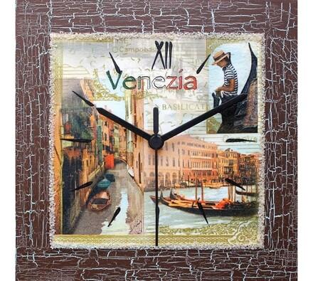 Dekorativní nástěnné hodiny Venezia