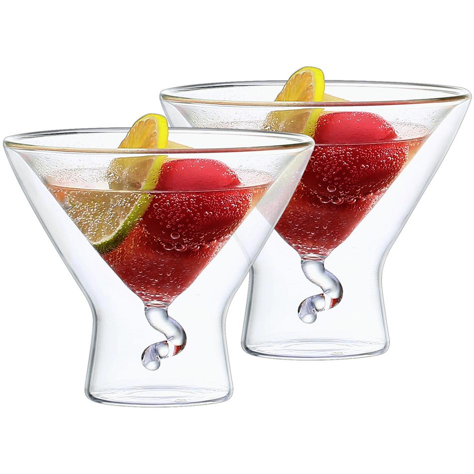 4home Termo pohár Martini Elegante Hot&Cool 200 ml, 2 ks