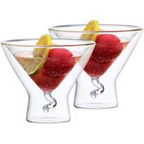 4home Thermo pohár Martini Elegante Hot&Cool 200 ml, 2 db