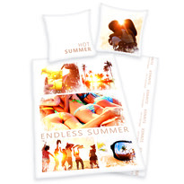 Bavlnené obliečky Summer, 135 x 200 cm, 80 x 80 cm