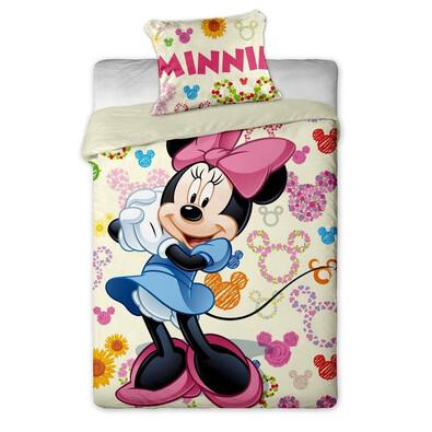 Dětské bavlněné povlečení Minnie colours, 140 x 200 cm, 70 x 90 cm