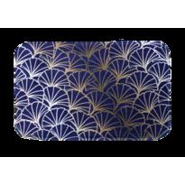 Domarex Dywanik z pianki z pamięcią Ginkgo, ciemnoniebieski, 38 x 58 cm
