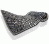 Silikonová klávesnice, černá