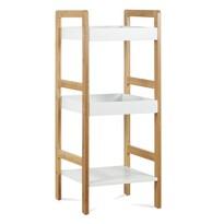 Regał bambusowy, 3 półki