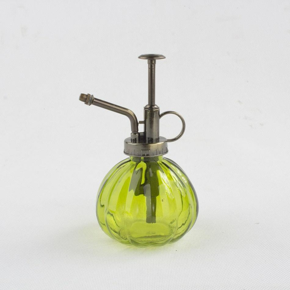 Pulverizator din sticlă, verde, 15 cm imagine 2021 e4home.ro
