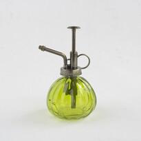Pulverizator din sticlă, verde, 15 cm