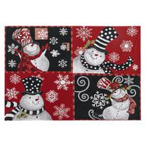 Vánoční prostírání Sněhuláci, 32 x 48 cm