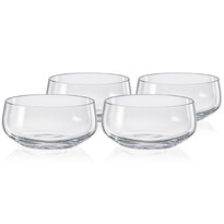 Crystalex 4-dielna sada misiek Mini Bowls Clear Clear, 95 ml