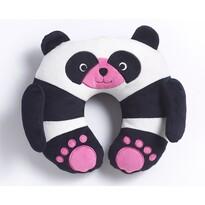 Travel Blue TBU-284 Poduszka podróżna Panda ChiChi, czarno-biała