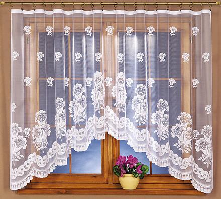Žakárová záclona Silvie, 300 x 140 cm