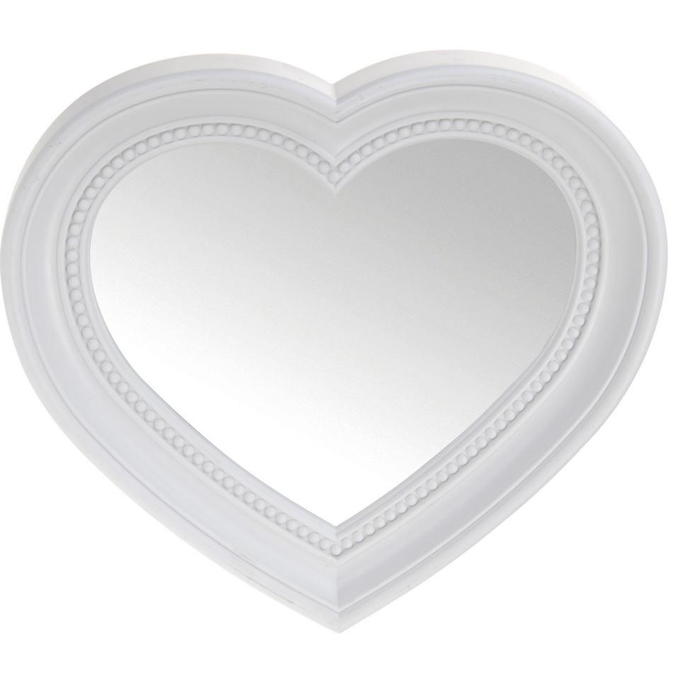 Koopman Zrcadlo L´amour, bílá
