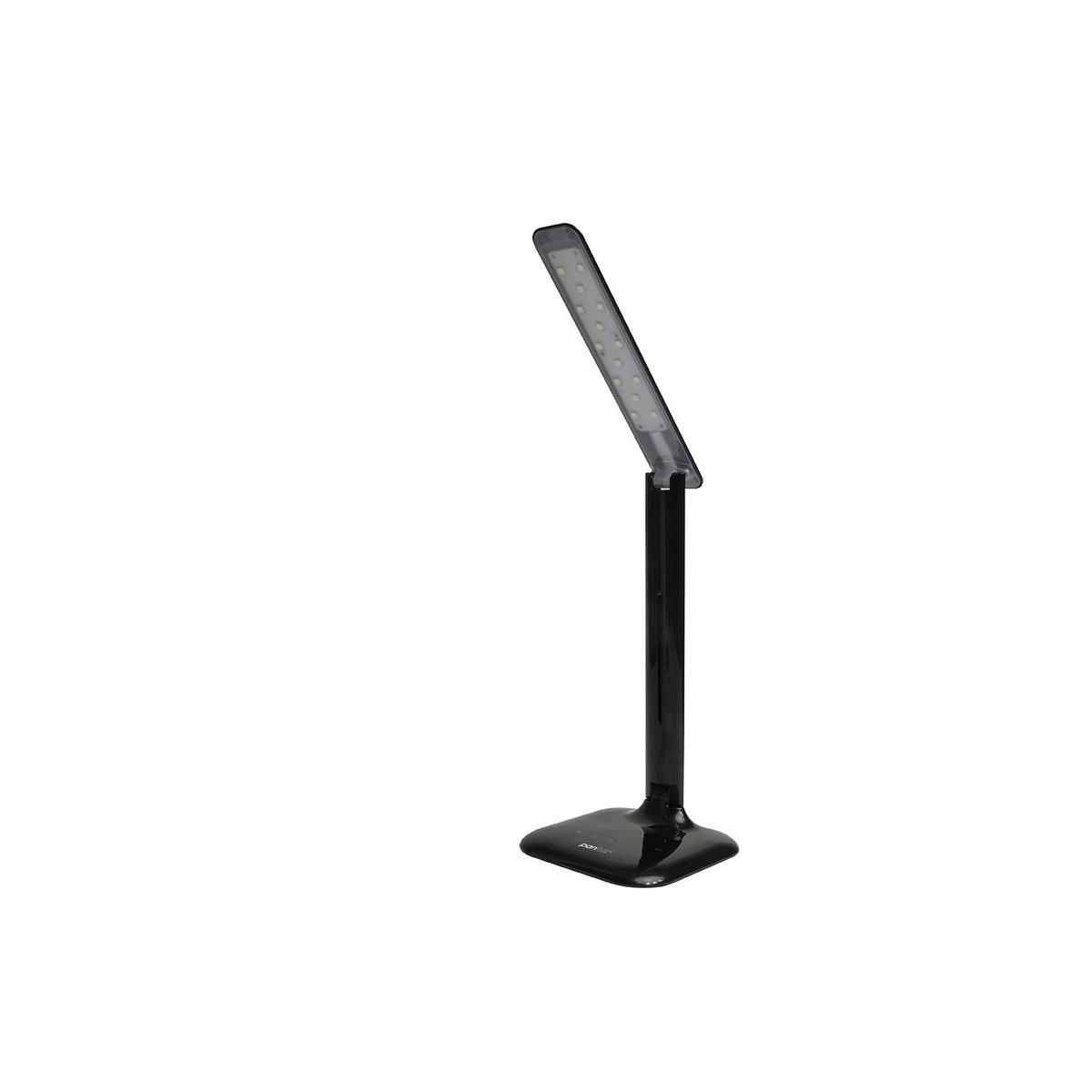 ROBIN LED stolná lampička, čierna, Panlux