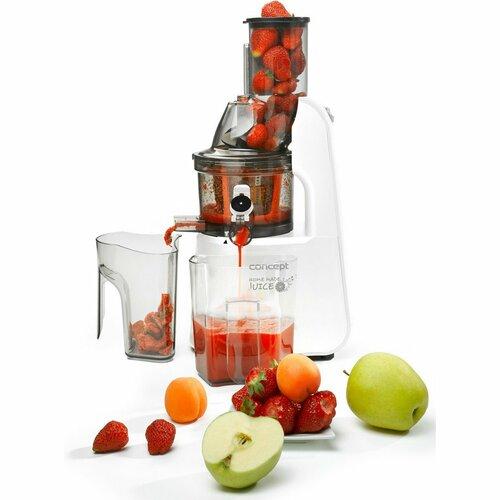 Concept LO7066 gyümölcs, és zöldség szeletelő Home made juice, fehér