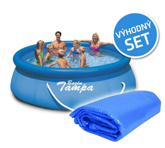 Set bazén Tampa 3,05m s filtrací včetně krycí plac
