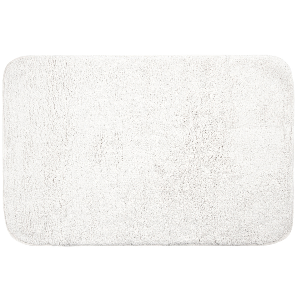Koopman Koupelnová předložka Felix bílá, 60 x 90 cm