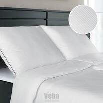 Veba Geon JIN és JANG damaszt ágynemű, fehér