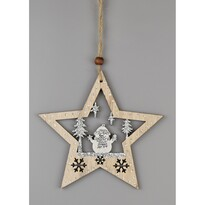 Vianočná závesná dekorácia Christmas star, 23 cm