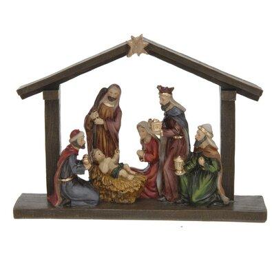 Vánoční dekorace Hvězda nad Betlémem, 20,3 x 5,5 x 15 cm