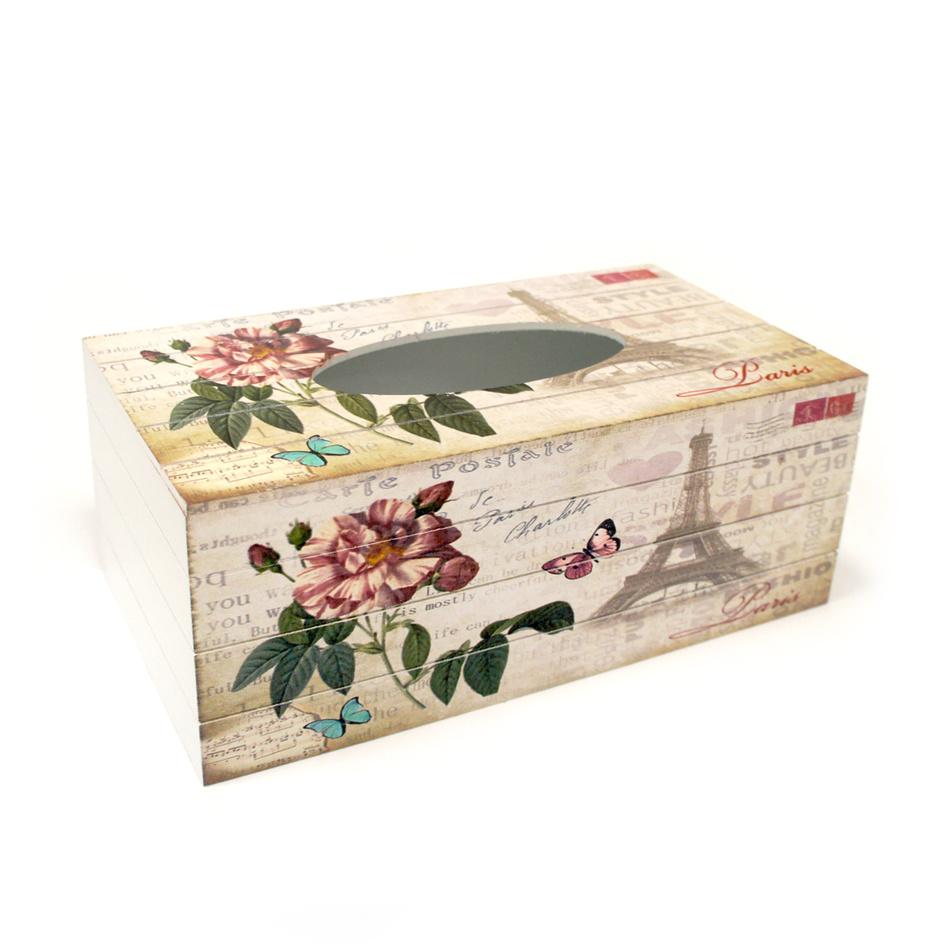 Krabička na vreckovky Paris
