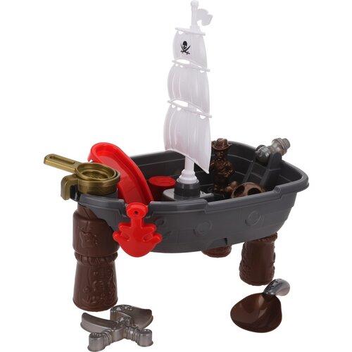 Detský hrací set Pirate ship 46 cm, 13 ks