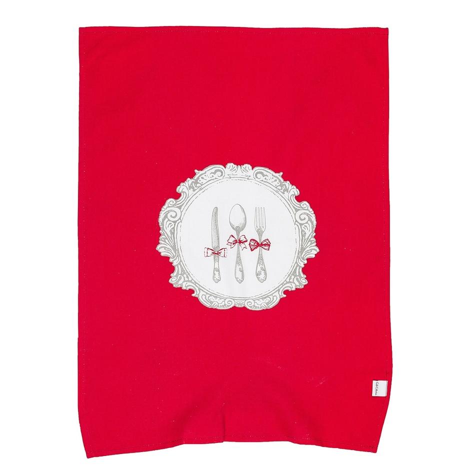 Altom Kuchynská utierka Alice červená, 50 x 70 cm,