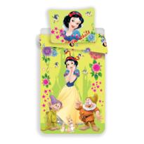 Dětské bavlněné povlečení Sněhurka Snow White, 140 x 200 cm, 70 x 90 cm