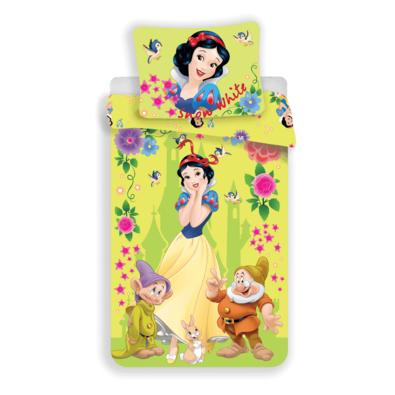 Dziecięca pościel bawełniana Królewna Śnieżka Snow White, 140 x 200 cm, 70 x 90 cm