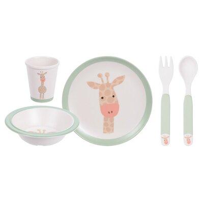 Zsiráf 5 részes gyerek étkészlet