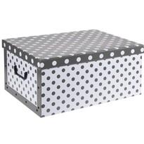 Úložný box Puntík, šedá