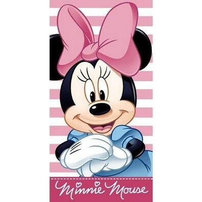 Osuška Minnie Stripes, 75 x 150 cm
