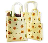Laminované nákupní tašky, žlutá