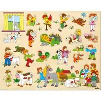 Woody Nagyméretű puzzle markolattal