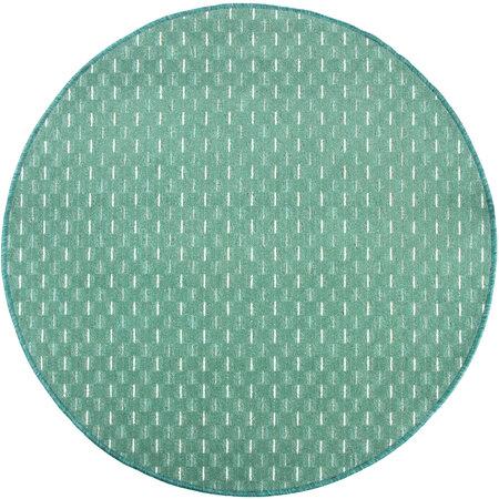 Kusový koberec Valencia zelená, 120 cm