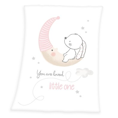 Pătură Herding Little Bunny, pentru copii, 75 x 100 cm