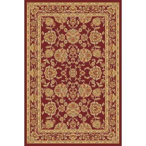 Habitat Kusový koberec Super Antique frame červená, 200 x 300 cm