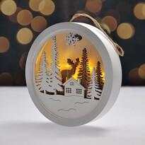 Solight Obrazek dekoracyjny LED Winter time