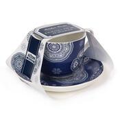 Šálek s podšálkem Blue Laces 430 ml, modrá