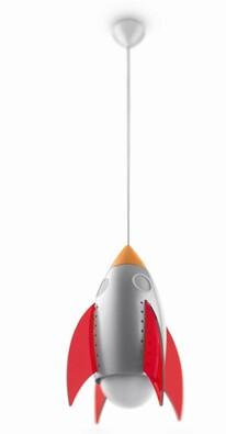 Philips dětské závěsné svítidlo Raketa