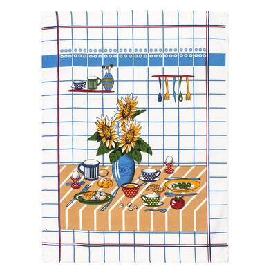 Kuchyňská utěrka slunečnice, 50 x 70 cm