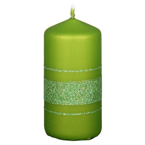 Vánoční svíčka Fénix, zelená