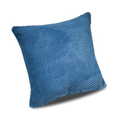 Faţă de pernă Baku albastră, 40 x 40 cm