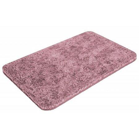 Matějovský Koupelnová předložka Soft růžová, 55 x 65 cm
