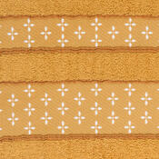 Ručník Vanesa oranžová, 50 x 90 cm