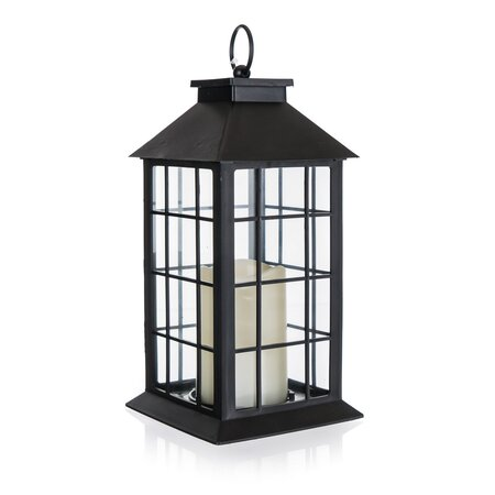Home Decor Lámpás LED gyertyával, 14 x 14 x 29 cm