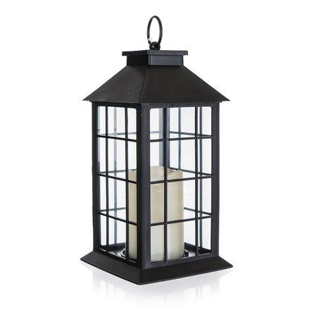 Home Decor Lucerna s LED svíčkou, 14 x 14 x 29 cm