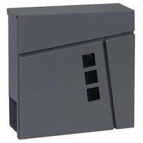 Cutie poștală din oțel BK.932.AG.AM, gri