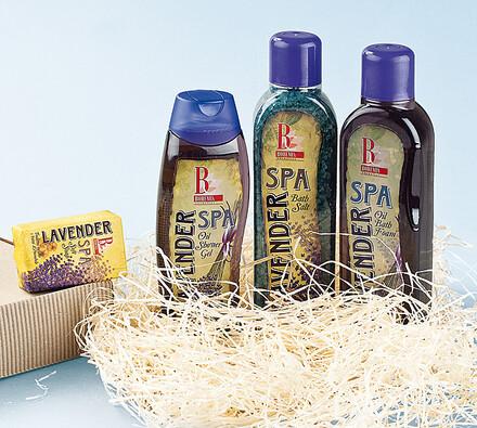 Kosmetická sada Lavender Spa s vůní levandule, olejová